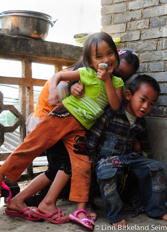 Children in HongHe