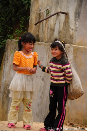 Young girls working Yunnan